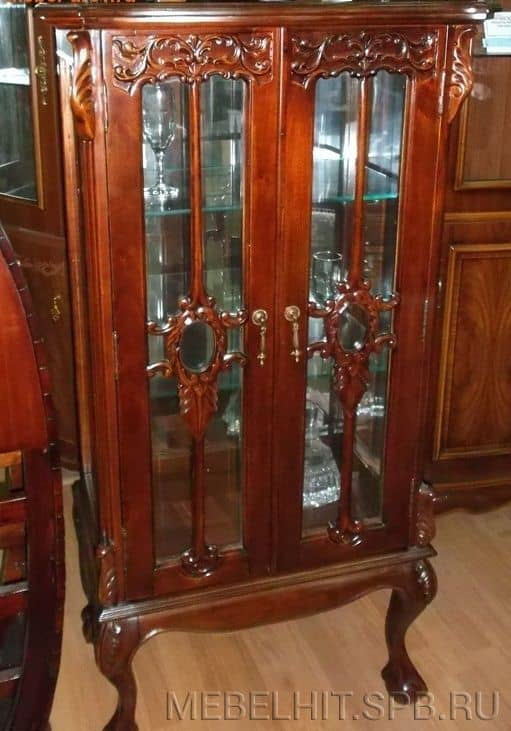 Витрина Philippe display cabinet MK-CAB06/DISP Мебель из Малайзии
